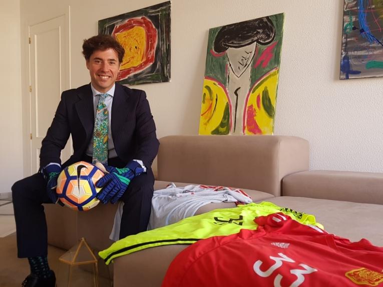 Rafa Bescansa, notario y portero campeón de Europa